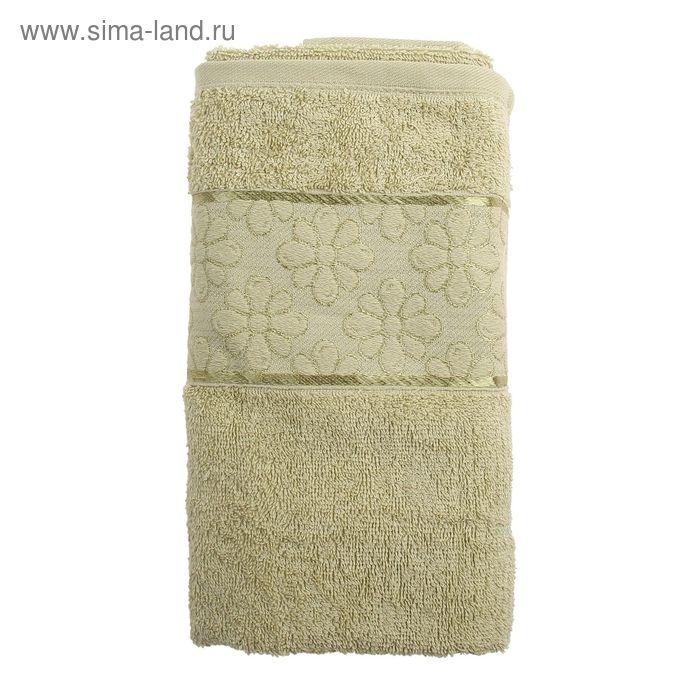 Полотенце махровое TWO DOLPHINS ANJELA 50*90 см фисташковый, хлопок, 460 гр/м