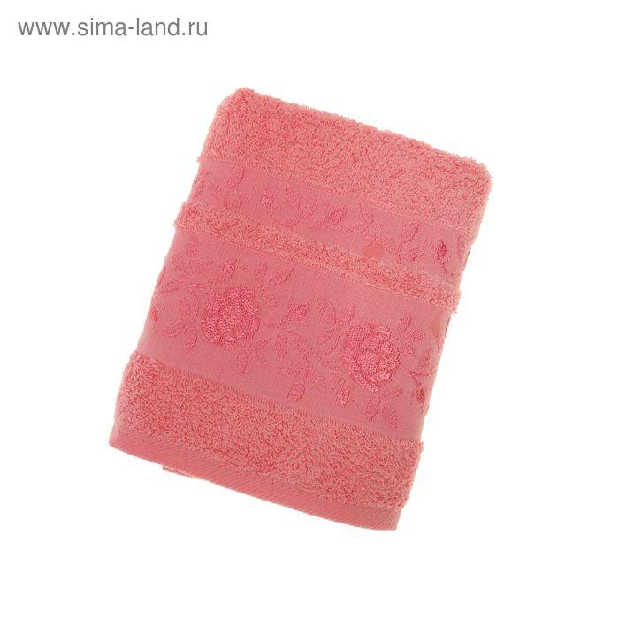 Полотенце махровое DO&CO GULFEM 70*140 см светло-розовый, хлопок, 460 гр/м