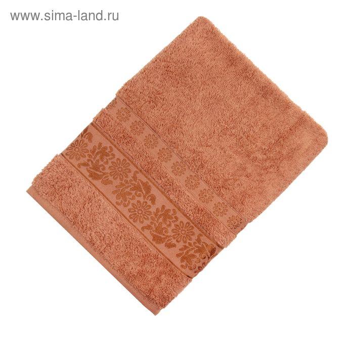 Полотенце махровое TWO DOLPHINS ILAYDA 50*90 см золотой, хлопок, 460 гр/м
