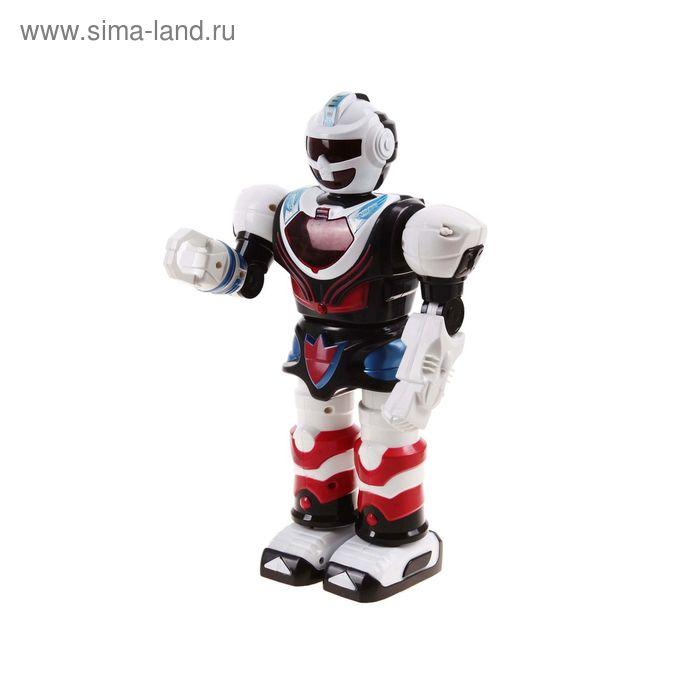 """Робот """"Пришелец"""", роаботает от батареек, световые эффекты, в пакете"""