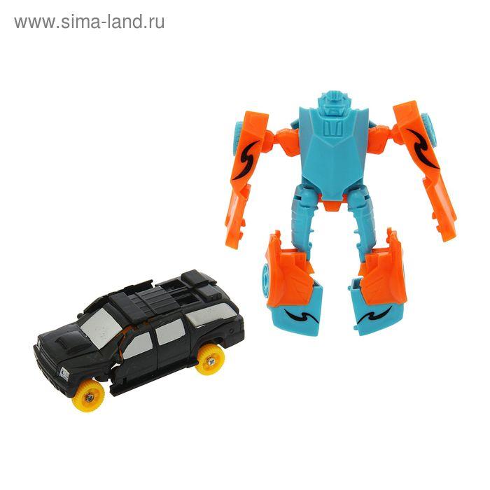 """Робот-трансформер """"Автобот"""", (набор 2 шт) МИКС в пакете"""