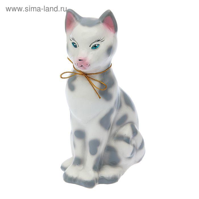 "Копилка ""Сфинкс"" глянец, белый леопард"