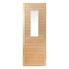 """Дверь для бани и сауны """"Классика №1"""", 190х70см, """"Добропаровъ"""""""