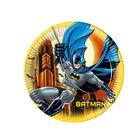 "Тарелки ""Бэтмен""   23 см (набор 8 шт)/ Batman Dark Hero"