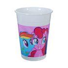 """Стаканы пластиковые """"Моя маленькая Пони"""" 200 мл (набор 8 шт) / Rainbow Pony"""