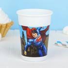 "Стаканы пластиковые ""Бэтмен против Супермена"" 200 мл (набор 8 шт) / Batman vs Superman"
