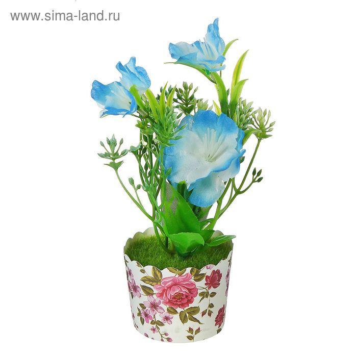 """Цветочная композиция в стаканчике """"Садовые цветы"""""""