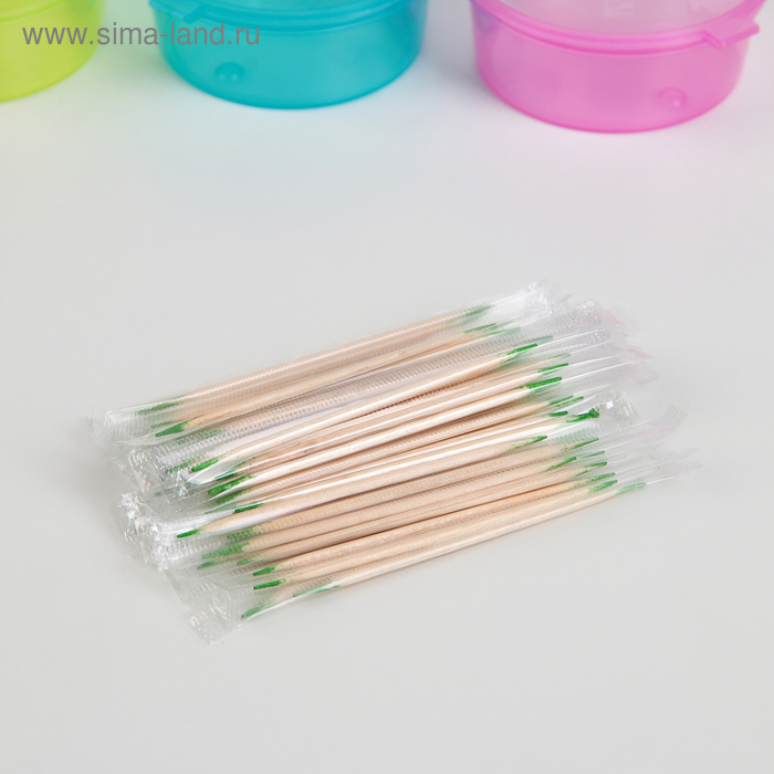 Floss with menthol in the individual polyethylene package 1000pcs
