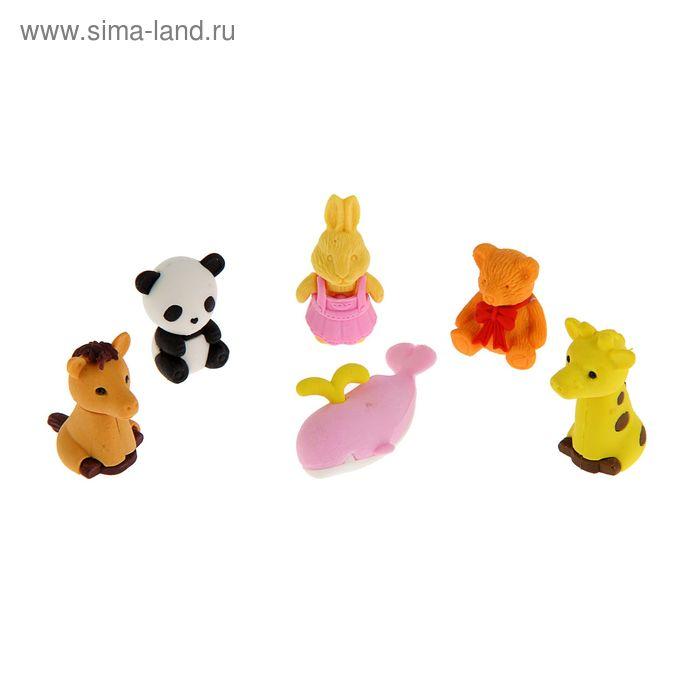Ластик Centrum синтетика Животные, микс 83484