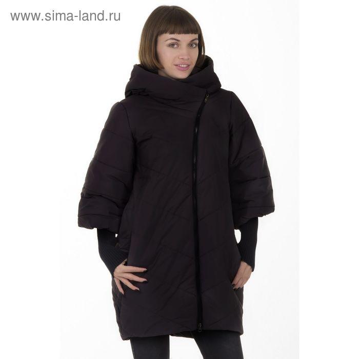 Куртка женская, размер 48, рост 168, цвет черный (арт. 48)