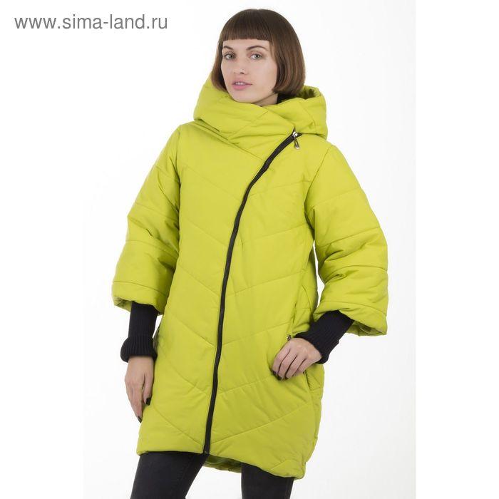 Куртка женская, размер 44, рост 168, цвет лайм (арт. 48)