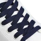 Шнурки для обуви плоские, ширина 9мм, 160см, цвет синий