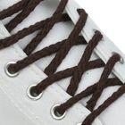 Шнурки для обуви круглые, ширина 5мм, 120см, цвет коричневый