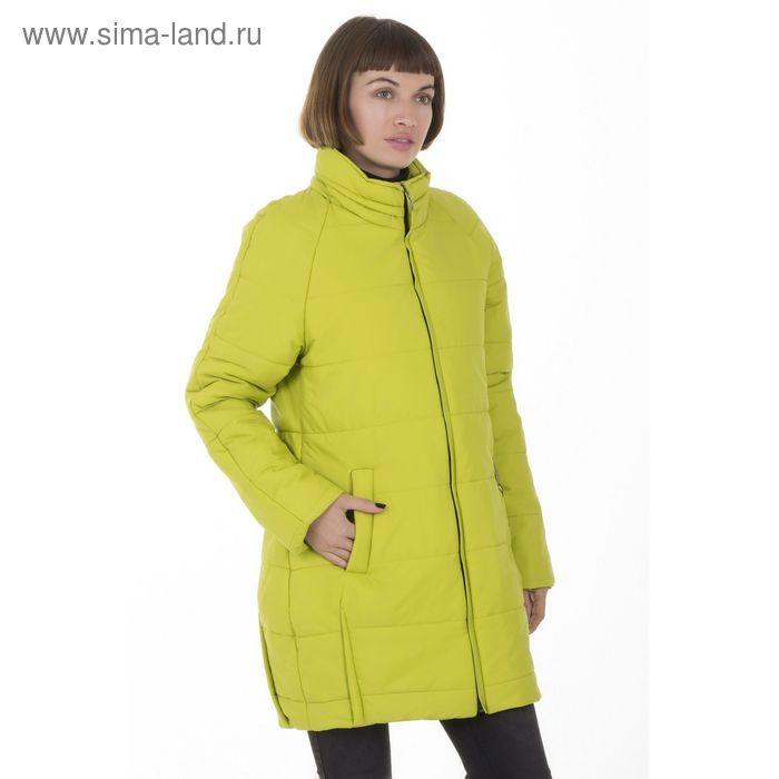 Куртка женская, размер 44, рост 168, цвет лайм (арт. 71)