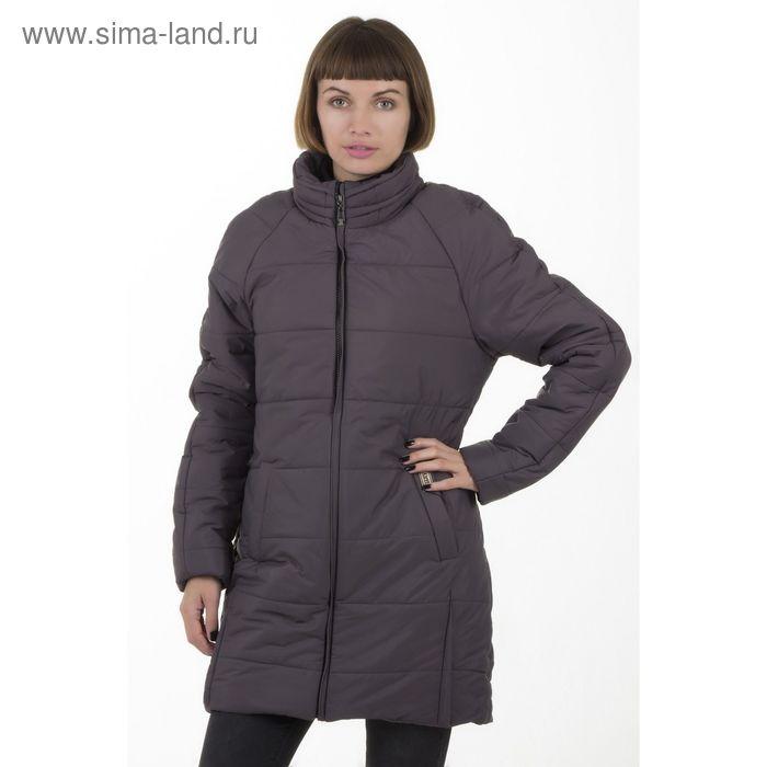 Куртка женская, размер 50, рост 168, цвет асфальт (арт. 71 С+)