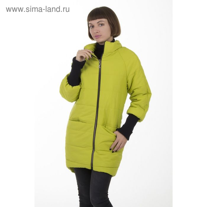Куртка женская, размер 46, рост 168, цвет лайм (арт. 53)