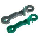Каркасное звено для фигурных букетов 6,5 х 1,5 см, зелёный, набор 100 шт.
