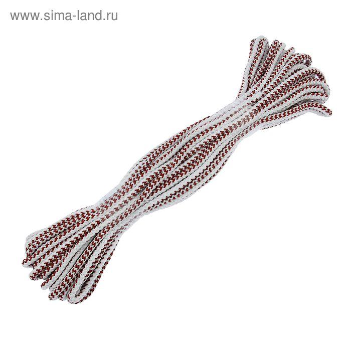 Шнур вязанный 30 м с сердечником d=8 мм
