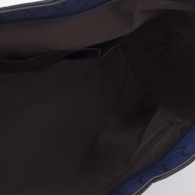 Сумка женская, отдел на молнии с перегородкой, цвет синий