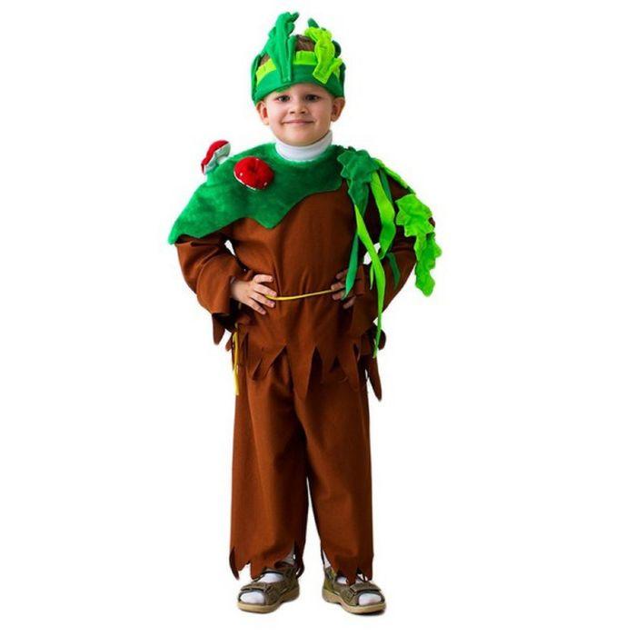 """Карнавальный костюм """"Леший"""", шапка, кофта, пояс, штаны, 5-7 лет, рост 122-134 см"""