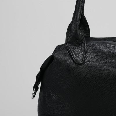 Сумка женская, отдел на молнии, цвет чёрный