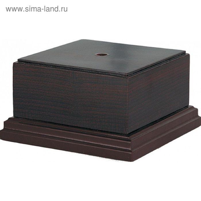 Цоколь деревянный 160х160х95 WB91008/MH