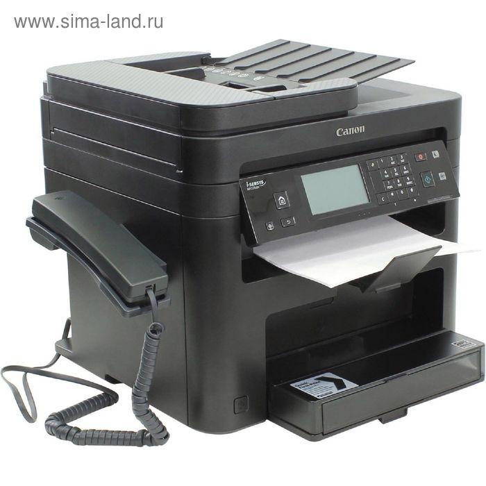 МФУ, лазерная черно-белая печать Canon i-Sensys MF226dn, А4, Duplex