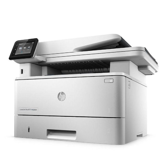 МФУ, лазерная черно-белая печать HP LaserJet Pro M426fdw (F6W15A), А4, Duplex, WiFi