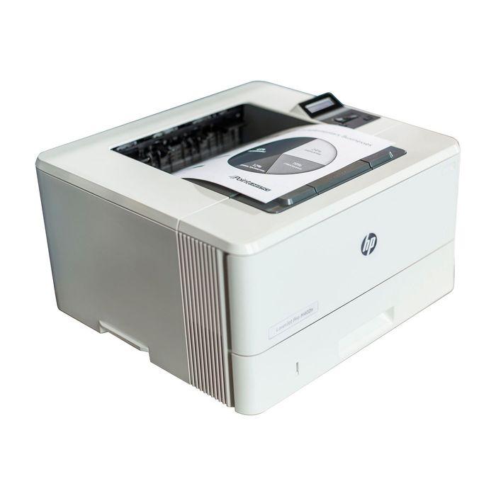 Принтер лазерный черно-белый HP LaserJet Pro M402n (C5F93A), А4, LAN