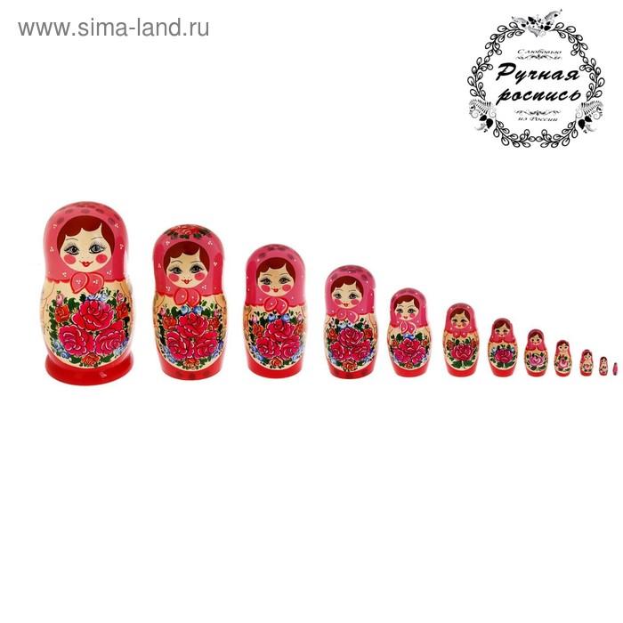 Матрёшка «Семёновская», 12 кукольная, люкс