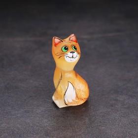 Сувенир «Кошечка», 3,5×6 см, селенит - быстрая доставка
