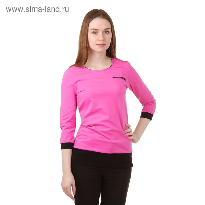 Джемпер женский Р808061 розовый, рост 158-164 см, р-р 50