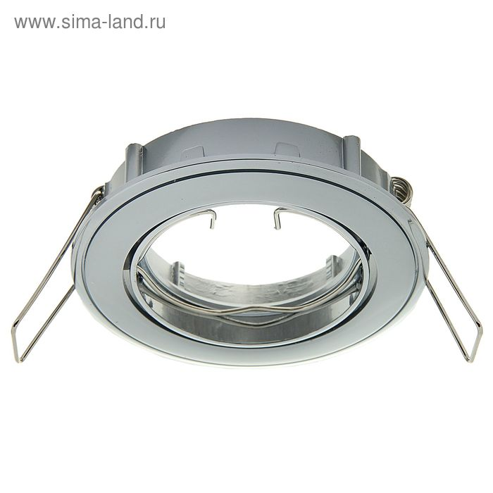 Светильник потолочный Linvel ELC-229 CH/PC/CH под MR-16, 50Вт., d-82мм  поворотный