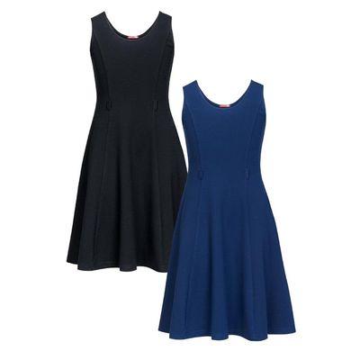 Платье для девочки, рост 116 см, цвет чёрный