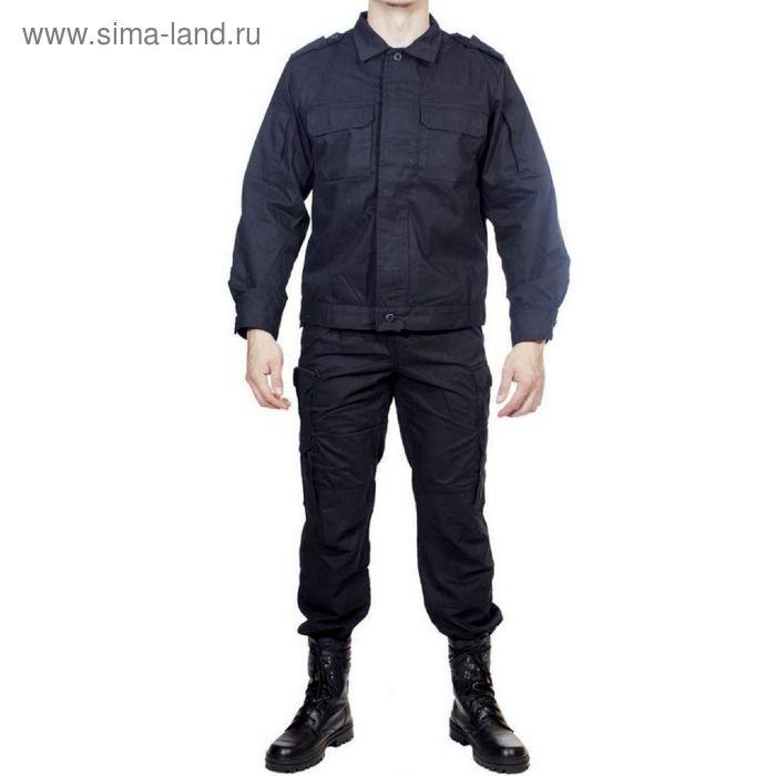 Костюм летний МПА-24 (Спецназ) черный тк. Мираж 48/4