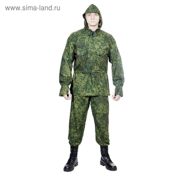 Костюм летний МПА-22 (Сумрак-2) КМФ зел.цифра тк. Панацея 58/4