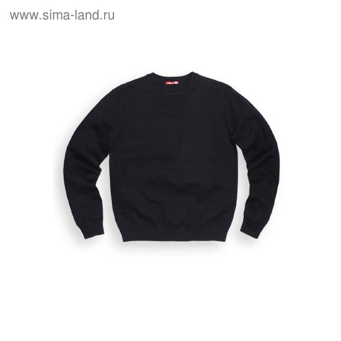 Джемпер для мальчика, рост 116 см, цвет чёрный BKJR001