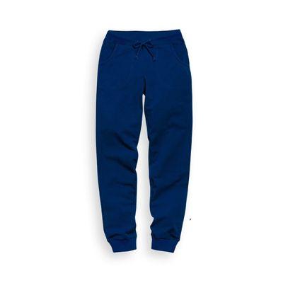 Брюки для девочки, рост 134 см, цвет синий