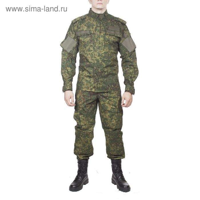 Костюм летний МПА-37-01 (МО-2) зеленая цифра тк. Мираж 54/4