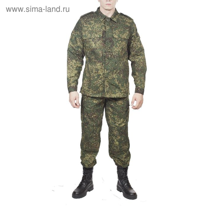 Костюм летний МПА-20 полевой (ВК М-192) зел. цифра МО Грета 50/5