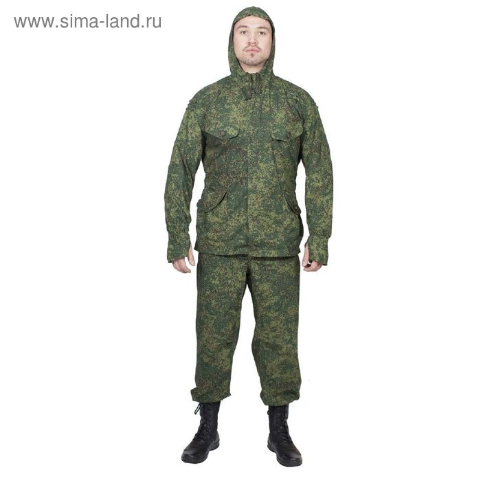Костюм летний МПА-21 (Сумрак-1) КМФ зеленая цифра  Панацея 52/4