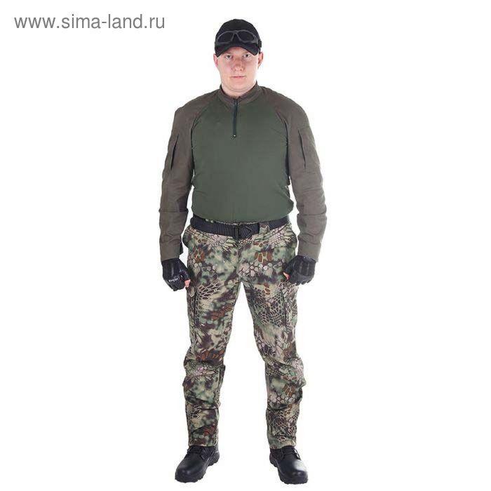 Брюки МПА-28 (тк.Софтшелл) КМФ питон лес 64/4