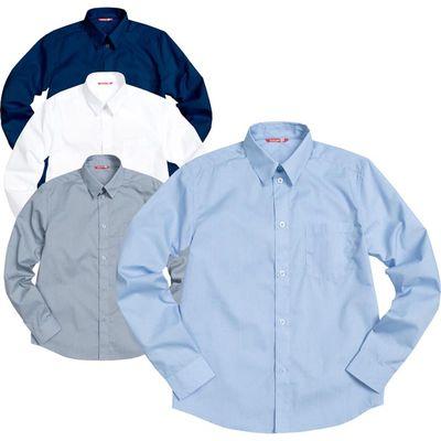 Сорочка верхняя для мальчика, рост 140 см, цвет голубой