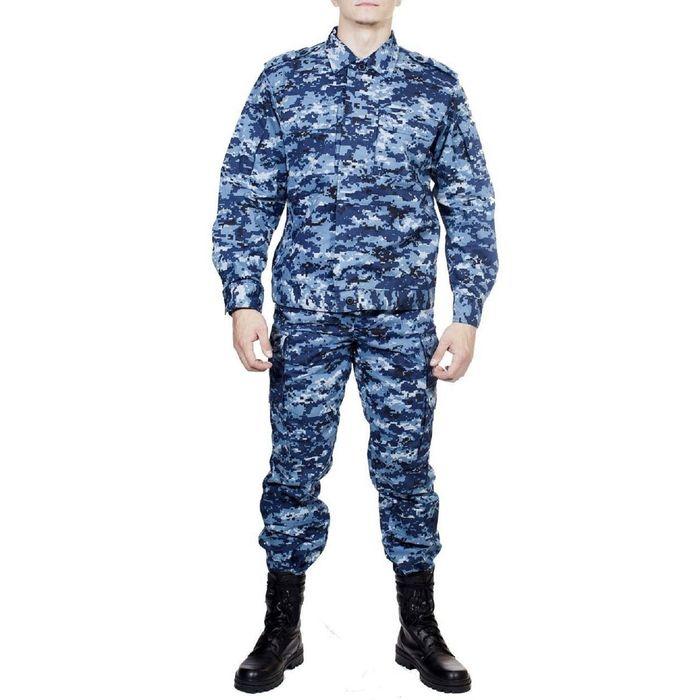 Костюм летний МПА-24 (Спецназ) КМФ с/г цифра тк. Мираж 54/4