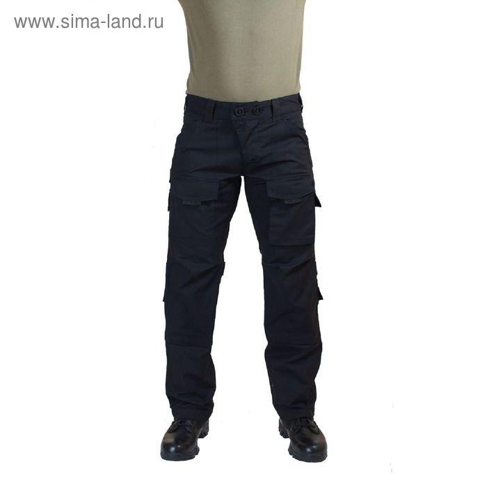 Брюки МПА-56 тактические черные тк.Рип-Стоп 44/2