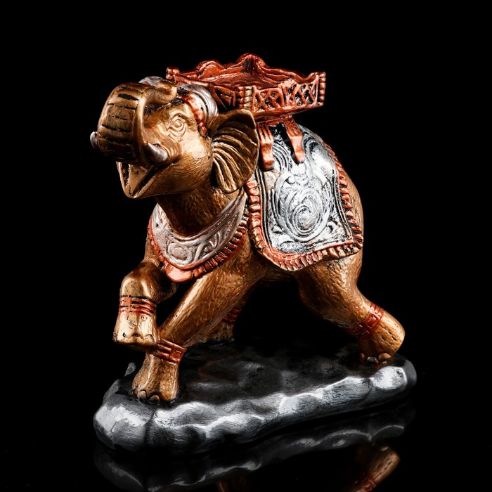 """Сувенир """"Слон"""" бронзовый цвет, 24 см, микс"""