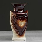 """Ваза настольная """"Амур"""", коричневая лепка, 19 см - фото 308501368"""