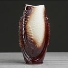 """Ваза настольная """"Калипсо"""", лепка, декор, керамика, 21 см - фото 805295"""