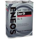 Трансмиссионное масло Eneos GEAR GL-5 75/90, 4 л