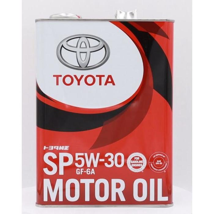 Масло моторное Toyota motor OIL SN/GF-5 5/30, 4 л